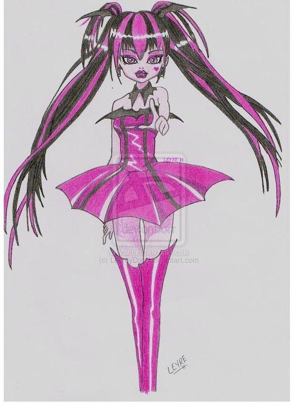 Super bo dessin de draculaura - Dessin anime de monster high ...